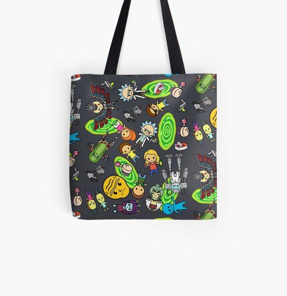 Rickest Rick and Mortiest Morty All Over Print Tote Bag