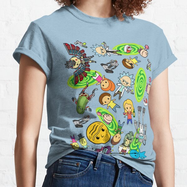 Rickest Rick and Mortiest Morty Classic T-Shirt