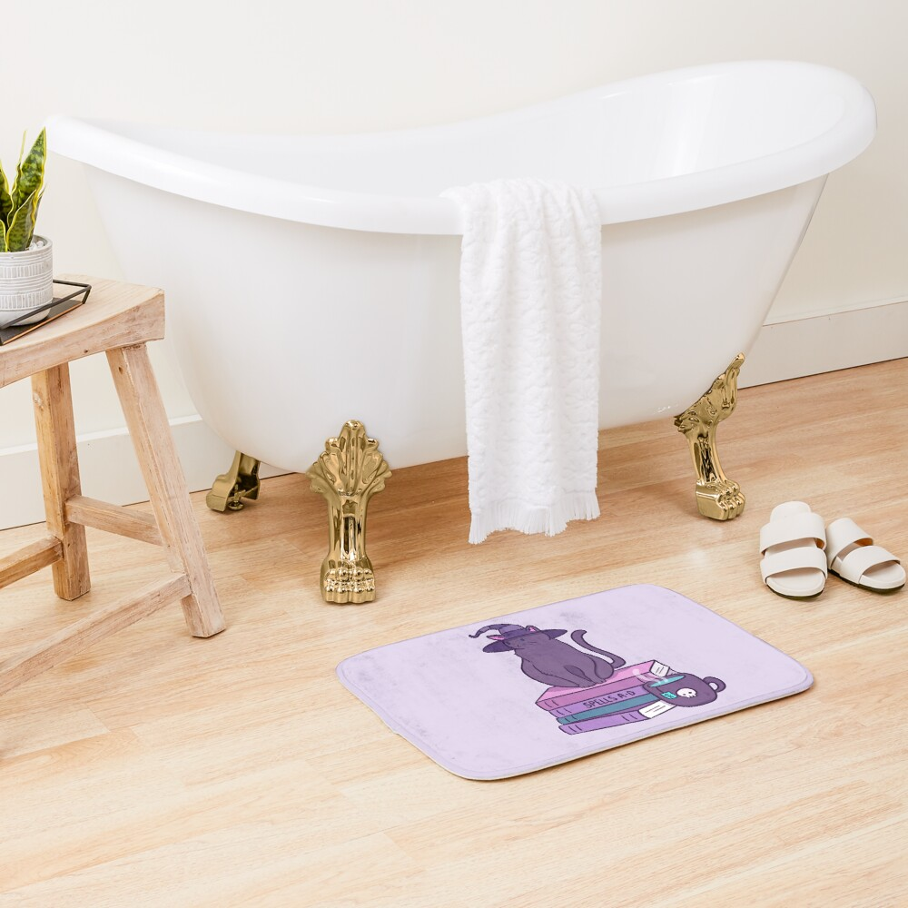 Feline Familiar Bath Mat