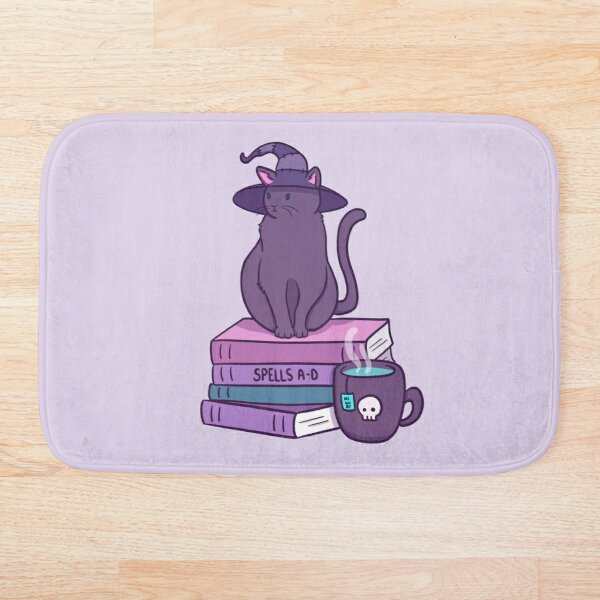 Feline Familiar Bath Mat
