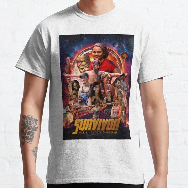 Survivor All Winners Poster Classic T-Shirt
