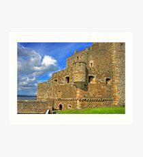 Blackness Castle Gatehouse Art Print