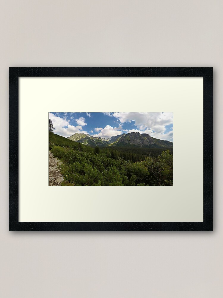 Alternate view of High Tatras Framed Art Print