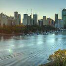 Brisbane by Lawrie McConnell