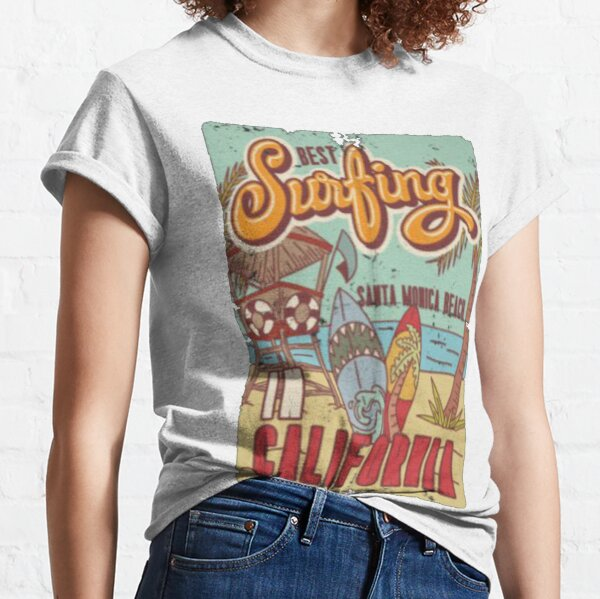 Best Surfing Vintage Tee Classic T-Shirt