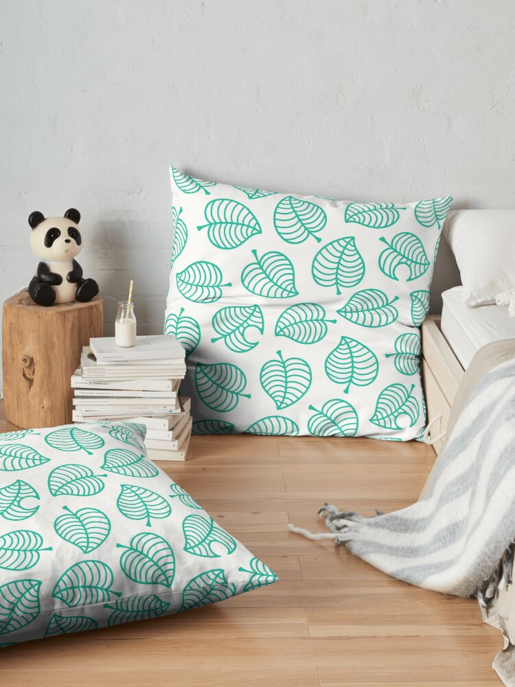 Alternate view of Tanuki Leaf Floor Pillow