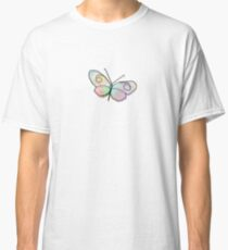 Wire Buttefly Classic T-Shirt