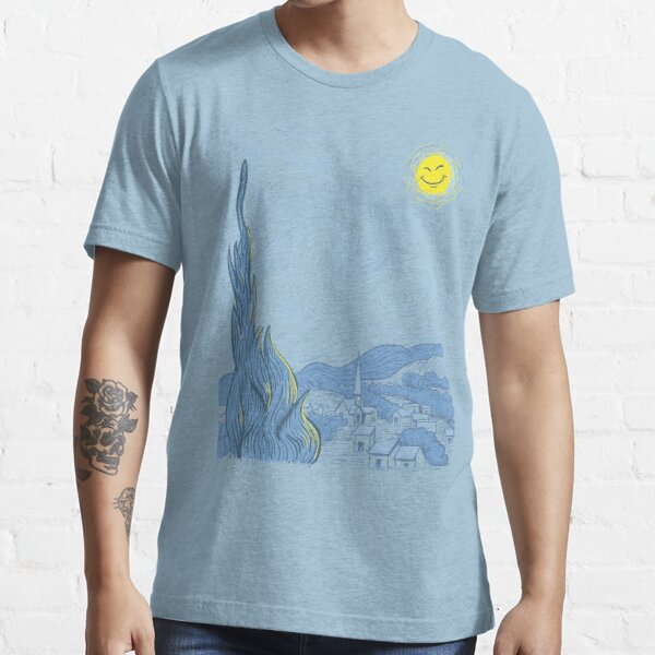 Van Gogh on Prozac Essential T-Shirt