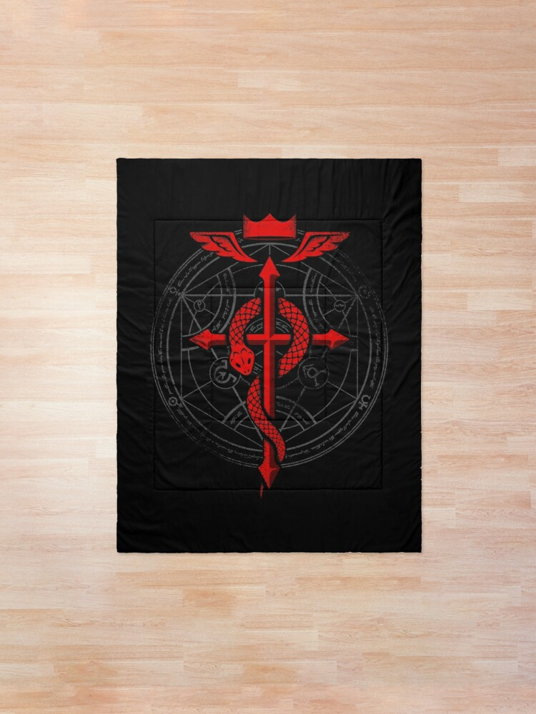 Alternate view of Fullmetal Alchemist Flamel Comforter
