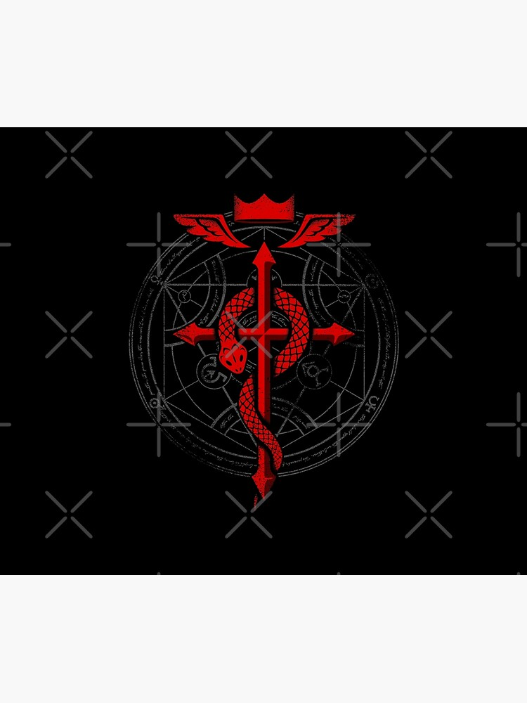 Fullmetal Alchemist Flamel von RevolutionGFX