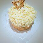 """White Chocolate Lemon Cupcake"" by franticflagwave"