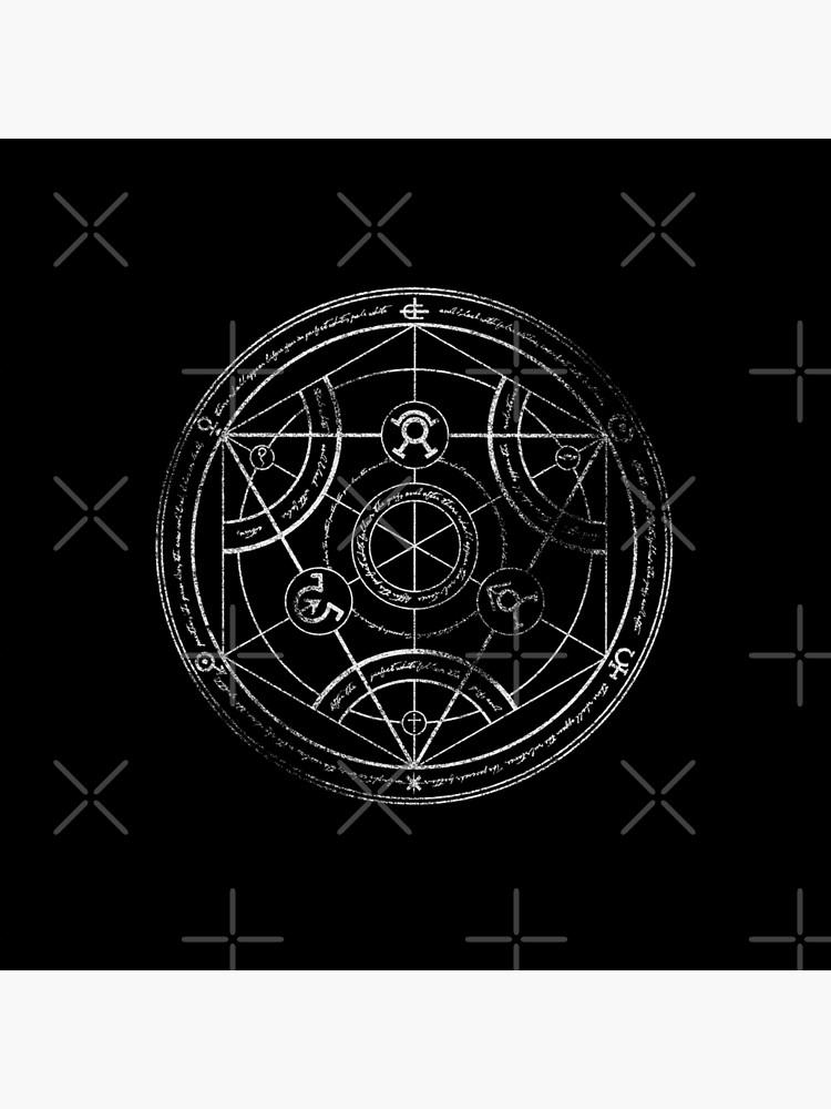 Círculo de transmutación humana - tiza de RevolutionGFX