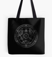 Bolsa de tela Círculo de transmutación humana - tiza