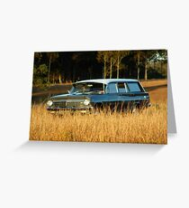 EH Holden wagon  Greeting Card