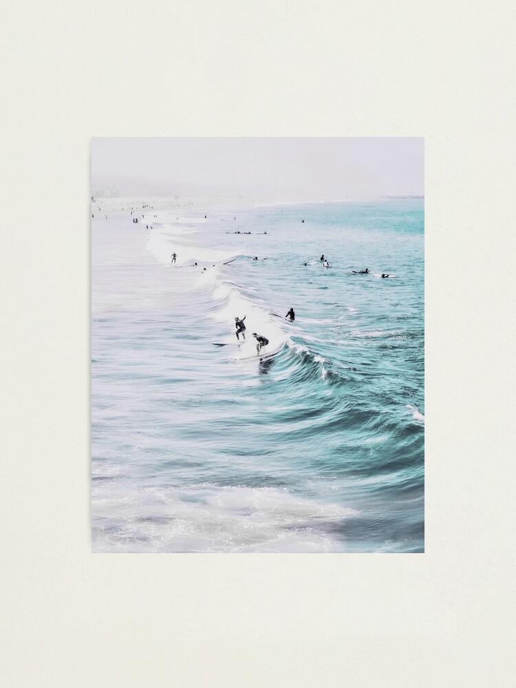 Alternate view of California beach, Ocean, Coast, Beach, Surfing, Water Photographic Print
