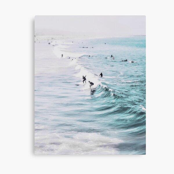 California beach, Ocean, Coast, Beach, Surfing, Water Canvas Print