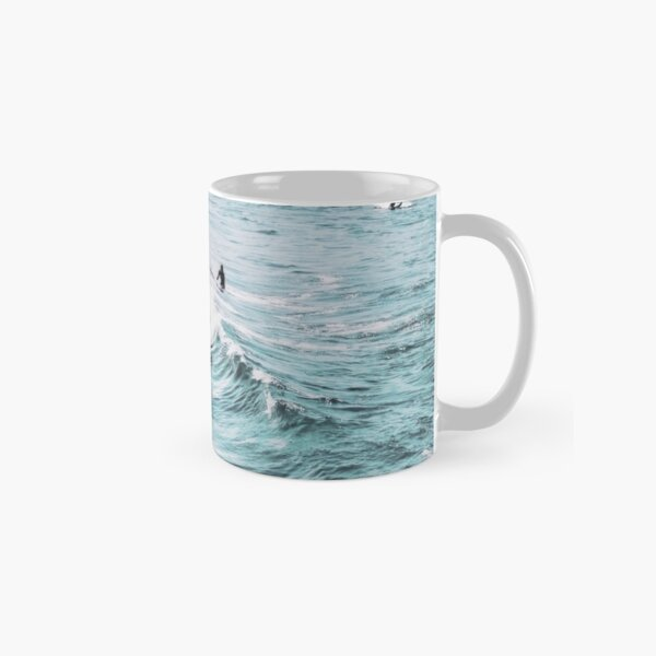 California beach, Ocean, Coast, Beach, Surfing, Water Classic Mug