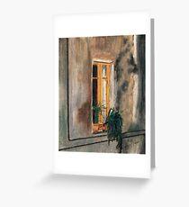 Finestra di Toscana #1 Greeting Card