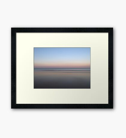 Smooth as Silk Framed Print