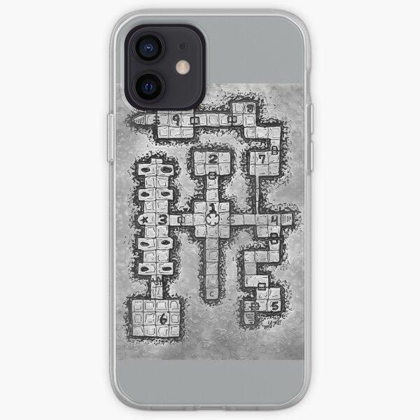 Old School Dungeon Design 002 iPhone Soft Case