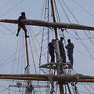 Tall ships by IrisGelbart