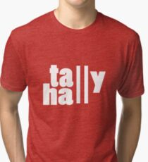 For lack of a tally hall geek funny nerd Tri-blend T-Shirt