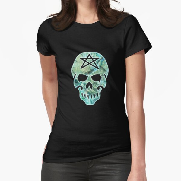 Skull: Mage: The Awakening Fitted T-Shirt