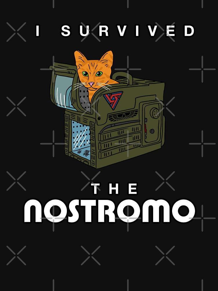 I Survived The Nostromo by CCCDesign