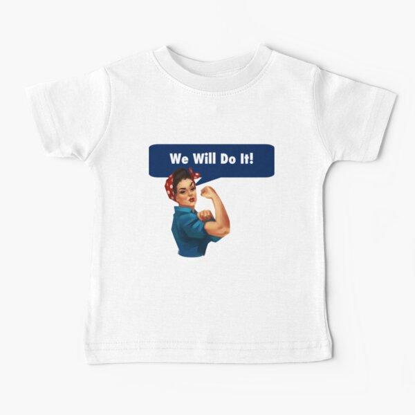 Modern Rosie Baby T-Shirt