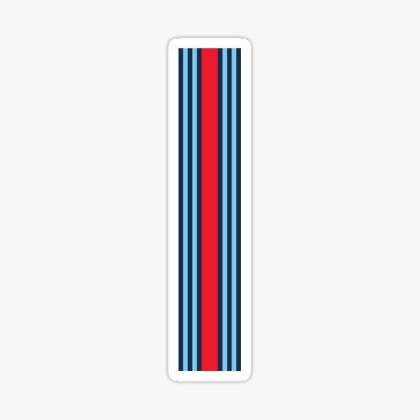 Martini Racing Stripe Sticker