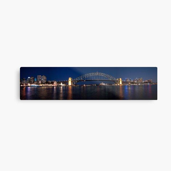 Sydney by Night. Metal Print