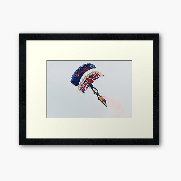 The Tigers parachute team Framed Art Print