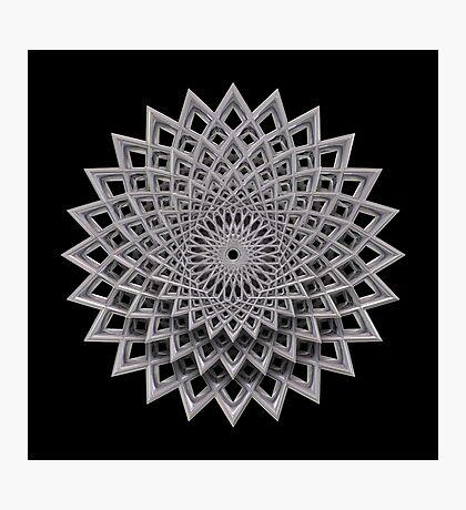3D Spiral 03 Photographic Print