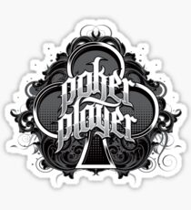 POKER PLAYER Sticker