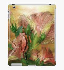 Hibiscus Sky - Peach iPad Case/Skin