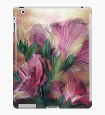 Hibiscus Sky - Pink iPad Case/Skin