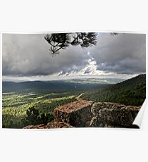 View from the Rim  Poster