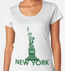 New York Premium Scoop T-Shirt
