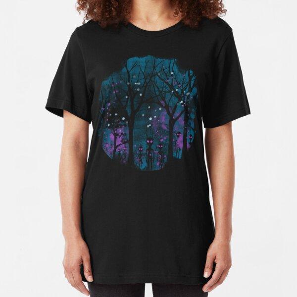 ALIEN ARRIVAL Slim Fit T-Shirt