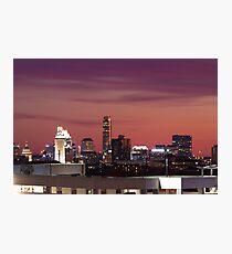 Downtown Austin, Texas Skyline at Sunset Photographic Print