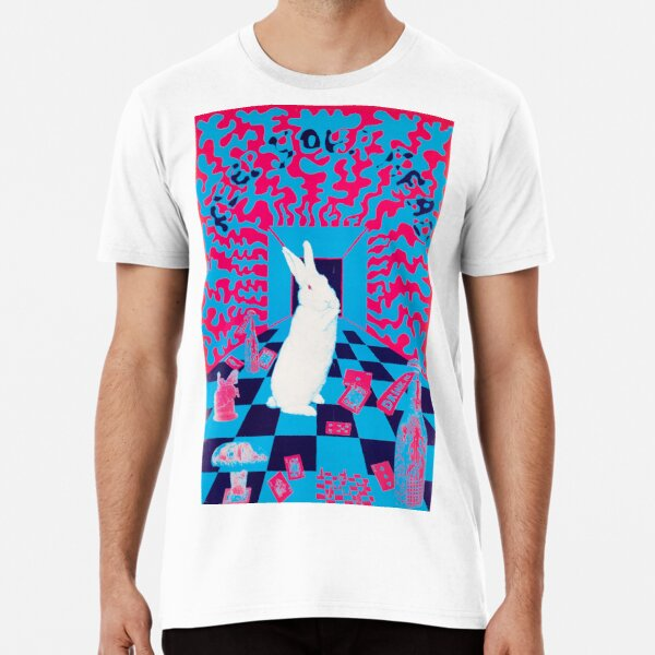 Vintage 1960s poster - Down the Rabbit Hole Premium T-Shirt