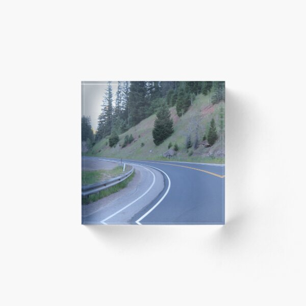 Bend in the Road Acrylic Block