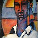 ABSTRACT AFRICAN by Barbara Lemley