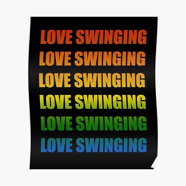 swinger outfit swinger urlaub swinger party Poster
