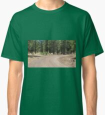 Curvey, Arizona dirt road Classic T-Shirt