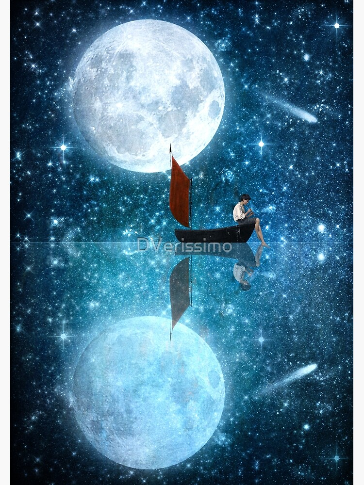 The Moon and Me v2 by DVerissimo