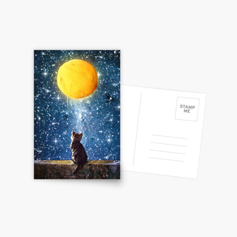 A Yarn of Moon Postcard