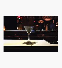 Date Night and Cocktails at Perry's Steakhouse in Austin, Texas  Photographic Print