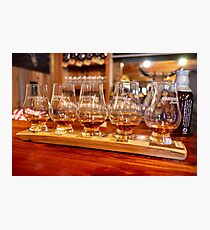 Bourbon Tasting at Garrison Brothers Distillery in Hye, Texas Photographic Print