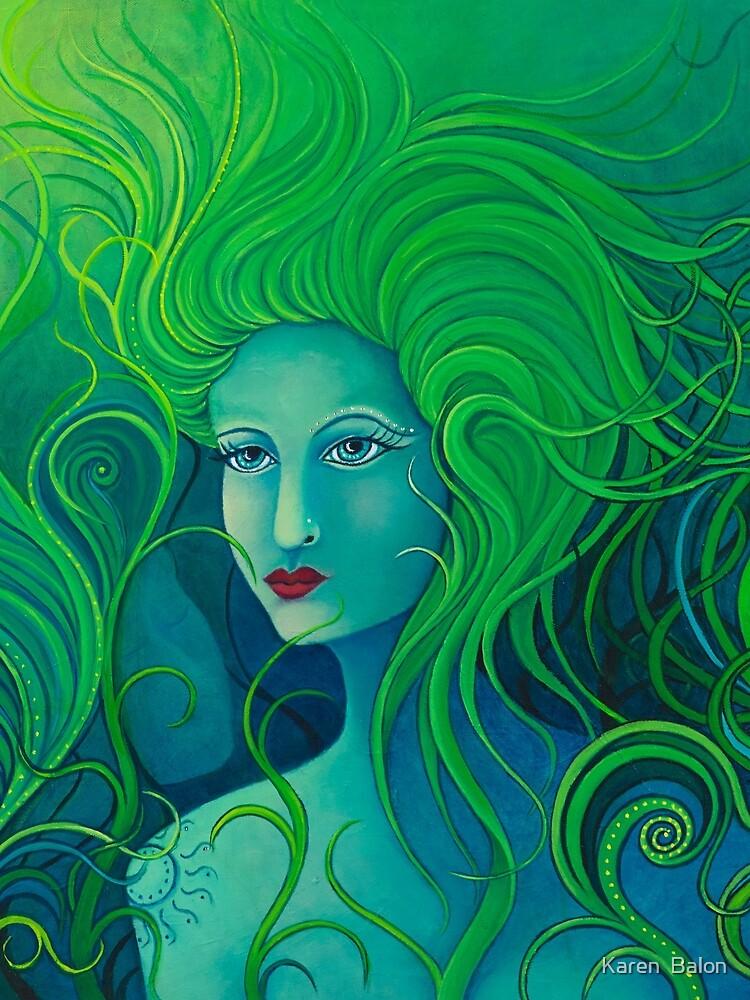 Forest Goddess by karenbalon